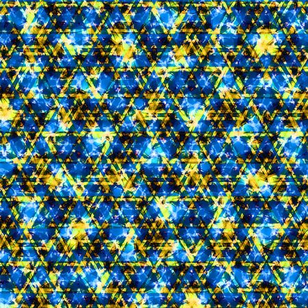 Abstract multicolor background with patterns. Illustration.
