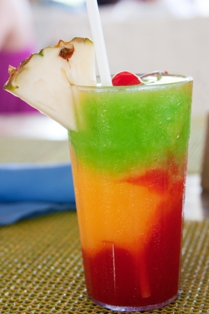 The Bob Marley -- A drink served at a resort in Jamaica