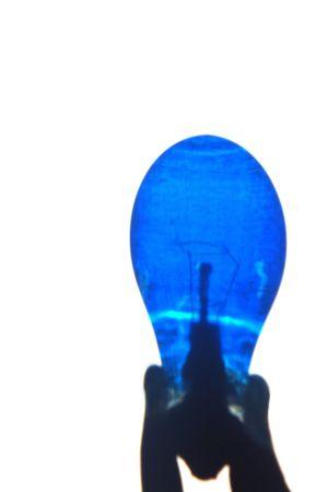 Blue bulb Stock fotó