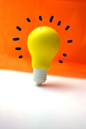id�e lumineuse: Brillante id�e Banque d'images