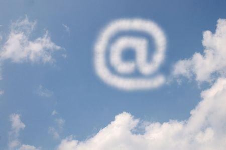 @ sign cloud Stock Photo