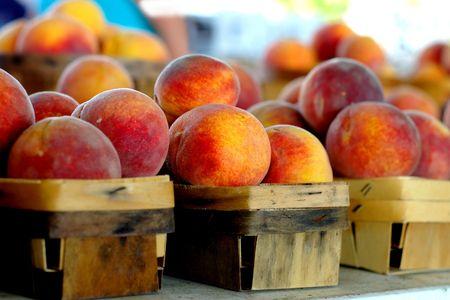 fresh peaches Stock Photo - 249510