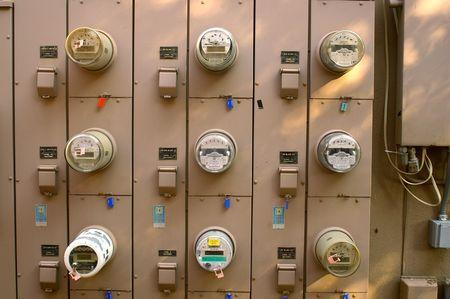 Power meters photo