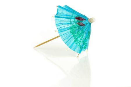 mini umbrella: paper umbrella Stock Photo