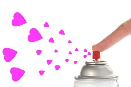 generoso: Compartir el amor  Foto de archivo