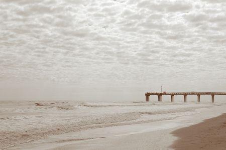 Landscape and pier photo