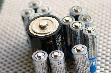 Assorted batteries