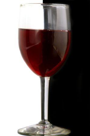 黒と白のワインのグラス 写真素材