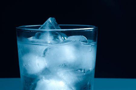 Cool blue ice