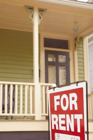 Huis te huur ondertekenen