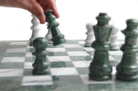 Chess player Stock Photo - 371773