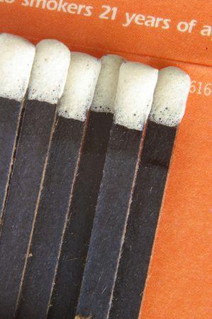 Match book closeup