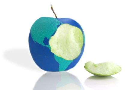 Global apple bite