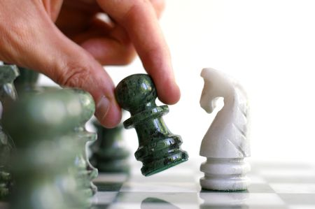 jugando ajedrez: Jugar ajedrez