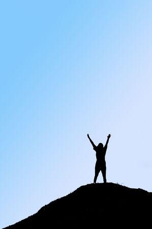 triumphant: Triumphant person