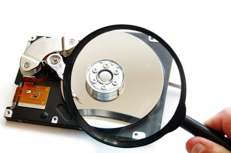 Hard disk-drive search Stock Photo - 628233