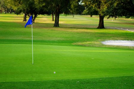 Golf course Stock Photo - 628221
