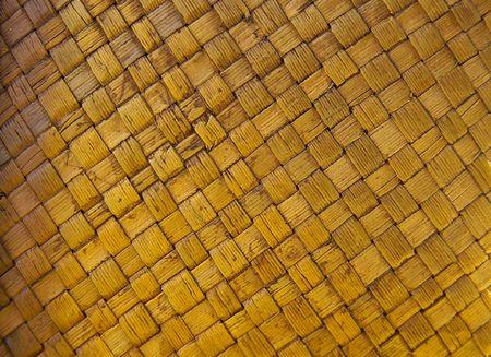 Woven basket closeup