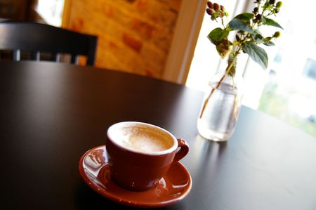 Cappuccino coffee Stock Photo - 652300