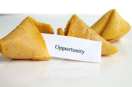 fortune cookie: Opportunity fortune cookie
