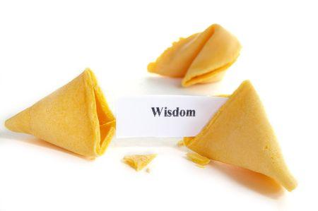 fortune cookie: Wisdom fortune cookie