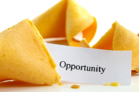 Opportunity fortune cookie Stock Photo - 651971