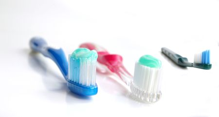 A family of tooth brushes