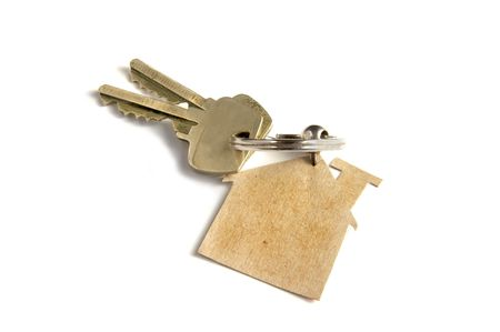 homeowner: Keys to new home Stock Photo