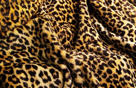 leopard pattern fabric