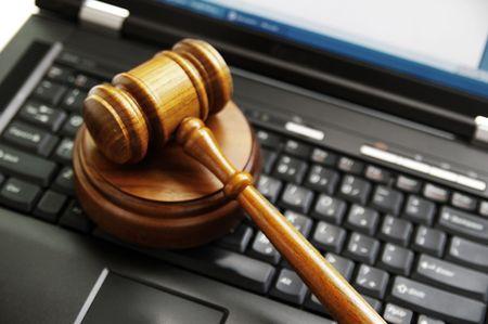 ラップトップ コンピューター (サイバー法) 裁判官の小槌