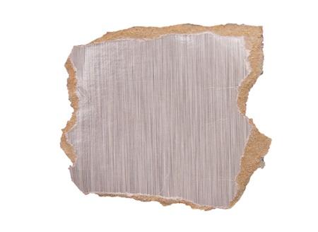 화이트 찢어진 된 종이의 조각
