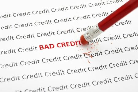 fico: pencil eraser fixing bad credit