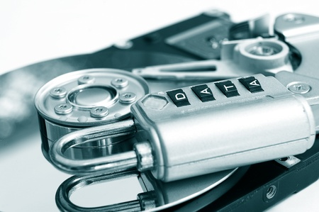 combination: a combination lock with