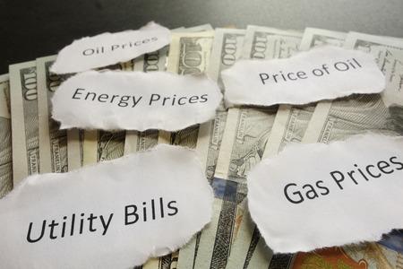 headlines: Energy related newspaper headlines on cash