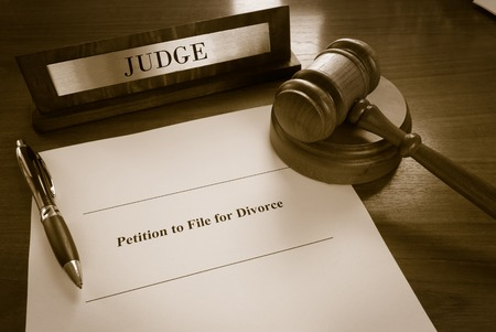 divorce court: Petition To File For Divorce document