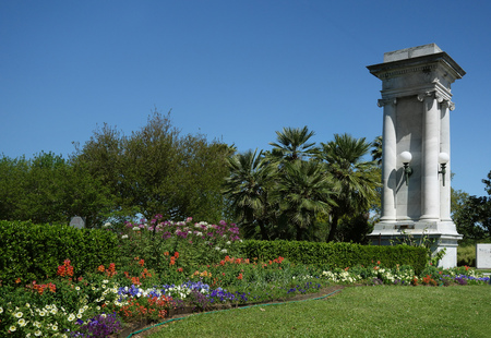 The entrance to City Park, the largest public park in New Orleans