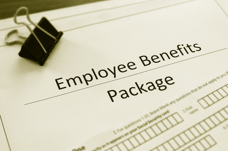 Employee benefits package and employment forms