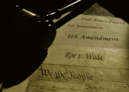 Roe V Wade text with US Constitution and Constitutional Amendments