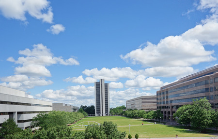 Halifax Mall government complex in downtown Raleigh, including the offices of Dept of Education, Revenue and Environment