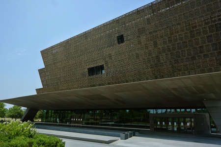 WASHINGTON DC/USA - 7-6-2020: The National Museum of African American History in Washington DC 新闻类图片