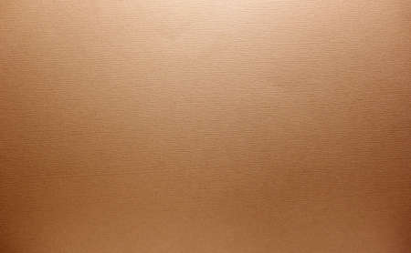 Textured brown paper or fabric background with horizontal ridges Standard-Bild
