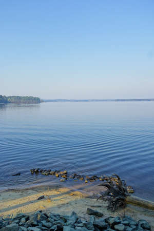 Jordan Lake State Park, a poular camping and boating destination near Raleigh NC