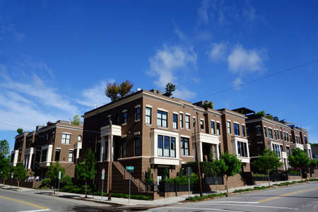 New luxury condos and townhouses in downtown Raleigh NC
