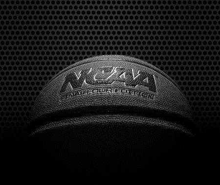 Raleigh,NC - USA - 05-07-2021: An NCAA Final Four Edition basketball on mesh background