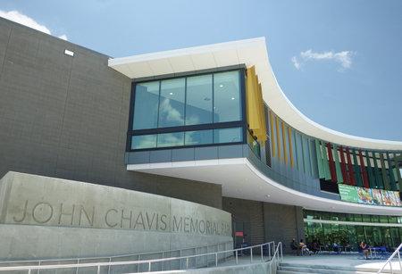 RALEIGH,NC - USA - 7-15-2021: John Chavis Memorial Park near downtown Raleigh , NC Sajtókép
