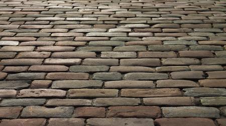 cobblestone: Part of  cobblestone road