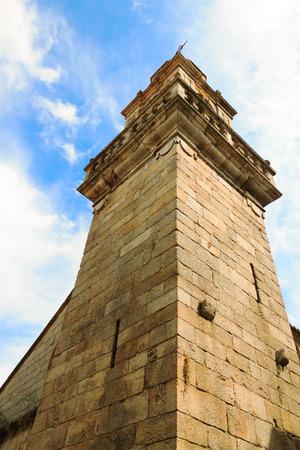 galicia: Fortress tower in Ribadavia Galicia Spain