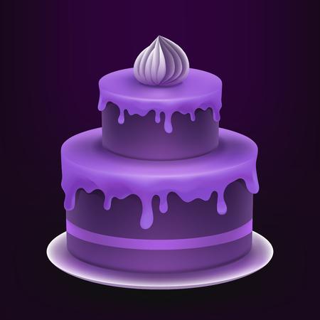 torte: illustration cake. Torte.