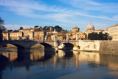 improbable: Sunlight in Rome near Vatican