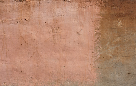 ruinous: Old textured wall from stone in Rome